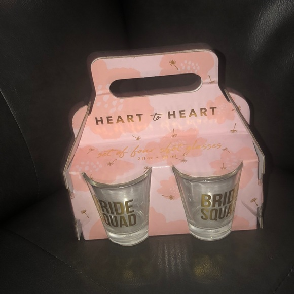 Heart to Heart Other - Shot Glasses